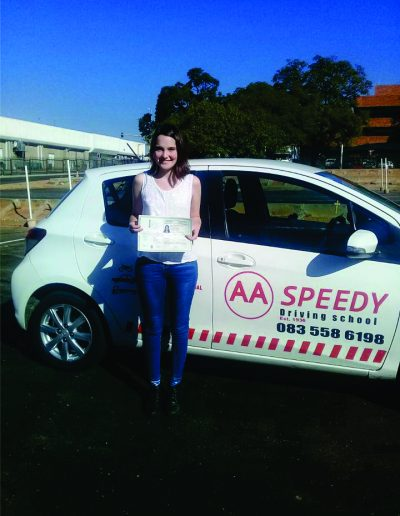 Passed test AA speedy