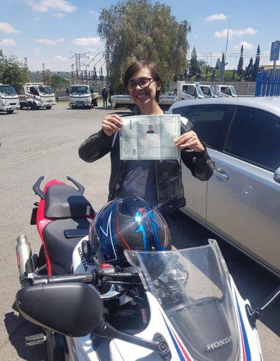 Motorbike Licence passed Randburg